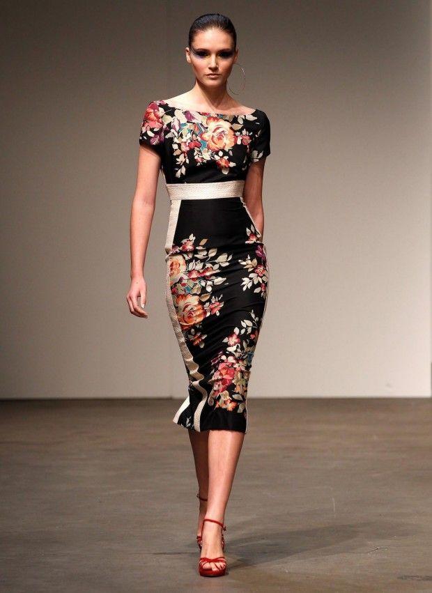 floral: Perry Spring Summ, Fashion Week, Fashion Design, Australian Fashion, Alex Perry Dresses, Perry 2011, Fashion Style Lov, Perry Design, Alex O'Loughlin