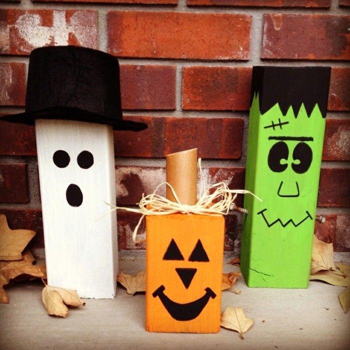 Halloween Basteln Holz.33 Bastelideen Halloween Selber Gebastelte Deko Bringt Noch Mehr