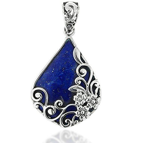 shop bear silver copper lapis sterling pendant jewellery lazuli red