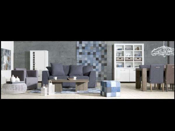 Donkere meubels/lichte vloer
