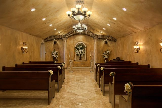 Chapel of the Flowers' La Capella Chapel in Vegas. I want to get married here!!