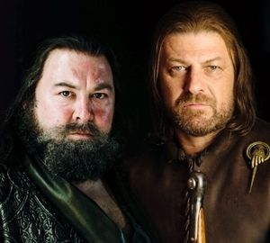 Robert Baratheon and Ned Stark ~ Game of Thrones