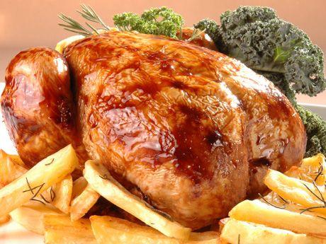 Como hacer un pollo al horno perfecto!