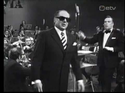 Georg Ots - song of Pali Racz - his last performance (1975)