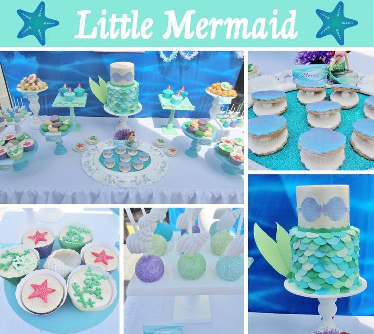 little mermaid birthday! super cute details