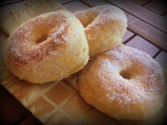 Golosando...serenamente!: Ciambelline piuma, al forno (con licoli o pasta madre)