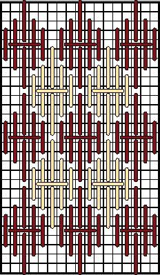 Phi Array Decorative Stitch Diagram 2