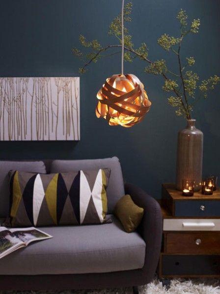Kreative DIY Idee Deckenlampe Selber Basteln