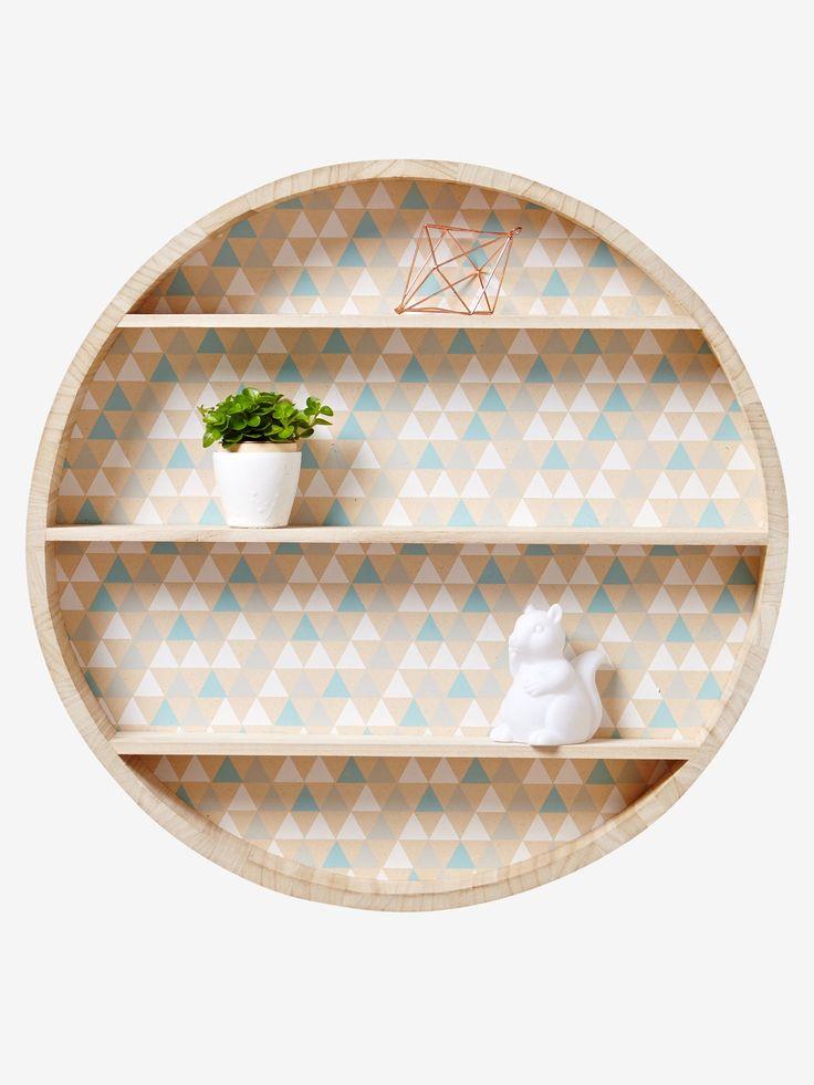 The 25 best etagere murale bois ideas on pinterest - Etagere murale ronde ...