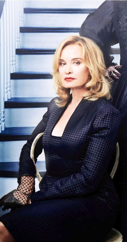 Jessica Lange as Fiona Goode on AHS: Coven. Now that's class...
