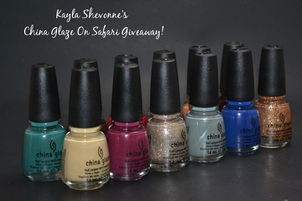 Nails by Kayla Shevonne: Giveaway - The Entire China Glaze On Safari Collection!