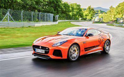 Scarica sfondi jaguar, f-tipo di svr, sport coupe