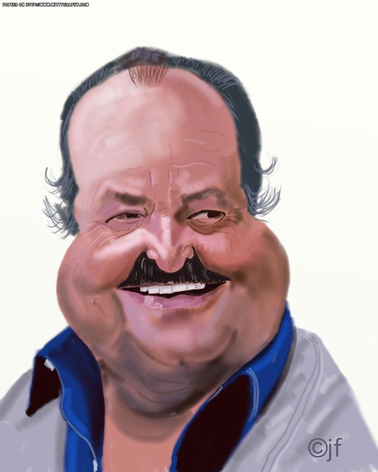 """William Conrad. He was """"Frank Cannon """" on TV many many years ago."""