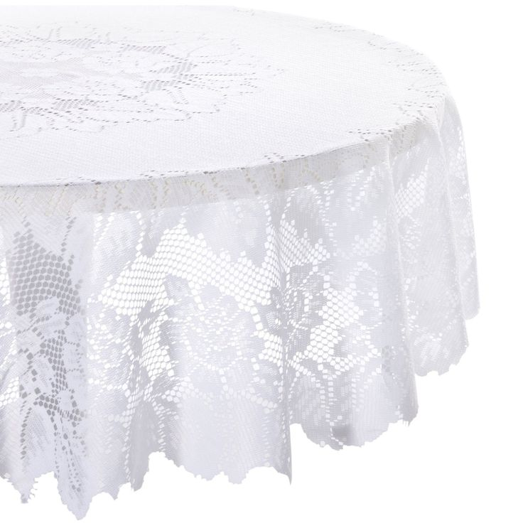 Lovely Amazon.com   DII 100% Polyester, Machine Washable Tablecloth Floral Lace  54x72, 60x90, 63 Round #AmazonCart #DII #DesignImports | Tablecloths |  Pinterest