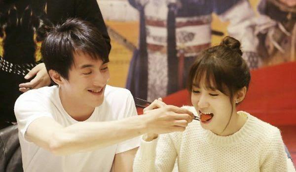 Yoona and Lin Geng Xin