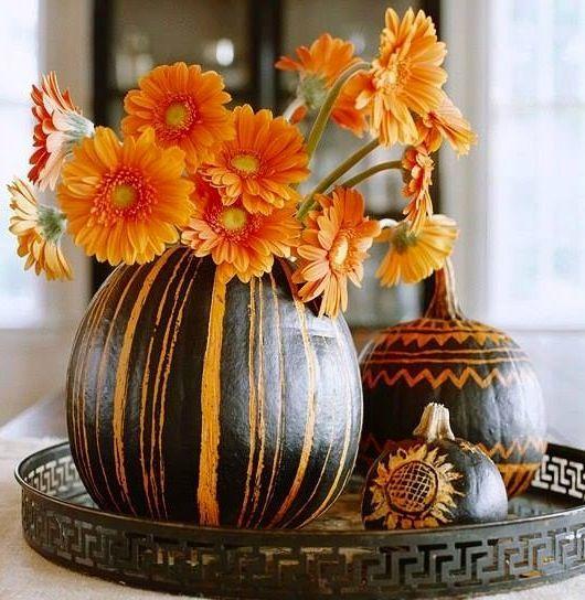 Pumpkin Centerpieces Via Carolu0027s Country Sunshine On Facebook  #greatpumpkincontest @Great Garden Supply