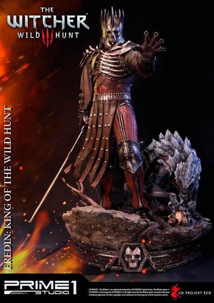 Estatua Eredin 61 cm. The Witcher 3: Wild Hunt. Prime 1 Studio Estatua del personaje de Eredin de 61 cm fabricada en poliresina y perteneciente al videojuego The Witcher 3: Wild Hunt. Modelo finalizado y pintado a mano. Licencia oficial. Edición limitada a sólo 800 unidades a nivel mundial.
