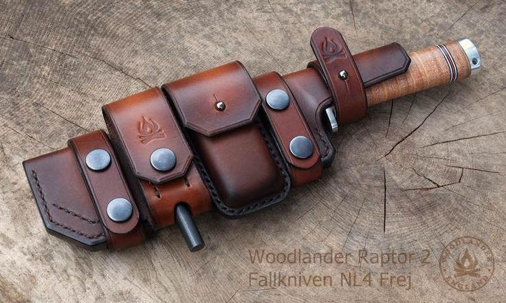Nl4 Frej Sheath Knife Sheath Leather Holster Leather