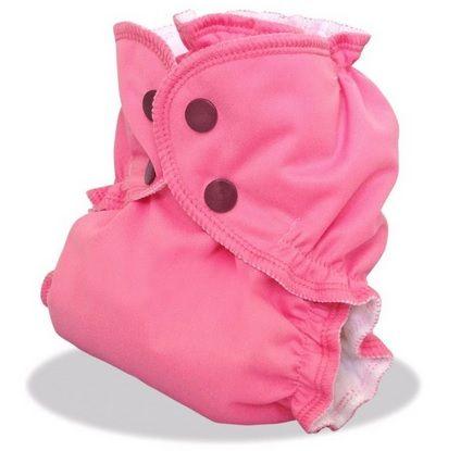 applecheeks envelop cloth diaper cover - PINK