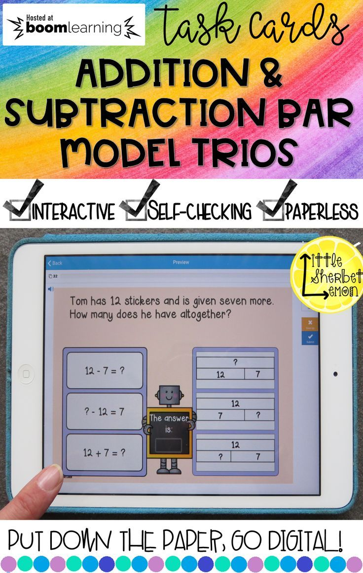 32 Bar Model Trio Jigsaw Cards These Have A Word Problem Bar Model And The Number Sentence These Are P Singapore Math Addition And Subtraction Word Problems Addition and subtraction bar model