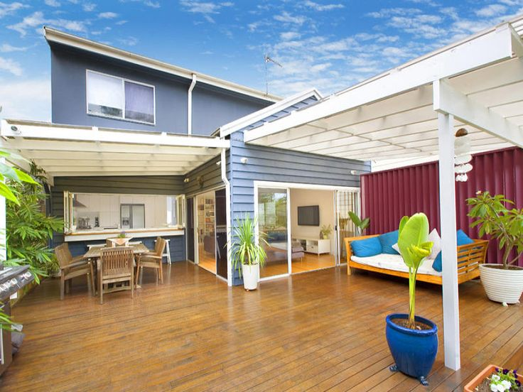 Outdoor living design with deck from a real Australian home - Outdoor Living photo 1123035