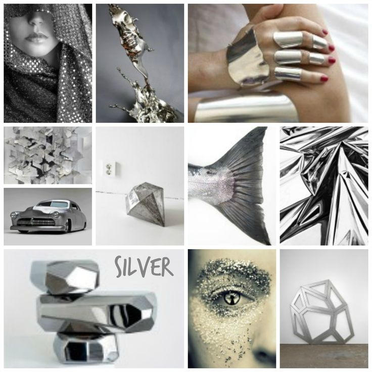 Silver mood board mood boards pinterest mood boards for 2050 fashion predictions