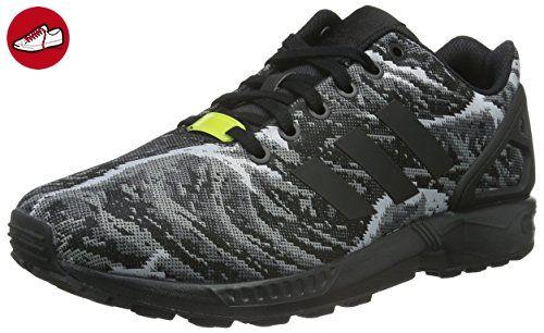 adidas Herren ZX Flux Weave Laufschuhe, Schwarz (Core Black/Core Black/Bright Yellow), 43 1/3 EU - Adidas schuhe (*Partner-Link)