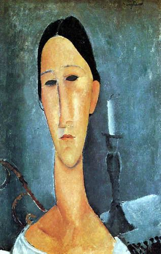 Amedeo Modigliani  Portrait of Anna Zborowska  1919
