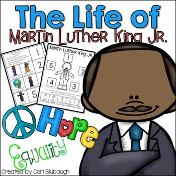 This product contains a timeline of Martin Luther King Jr.'s life. You can use this in your social studies curriculum to complement biography texts that are read in class.