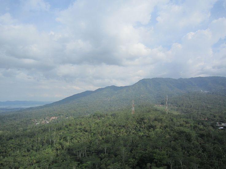 view at bedono ambarawa indonesia