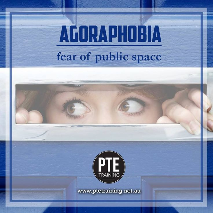 Agoraphobia is an anxiety disorder characterized by symptoms of anxiety in situations where the person perceives the environment to be unsafe with no easy way to get away.