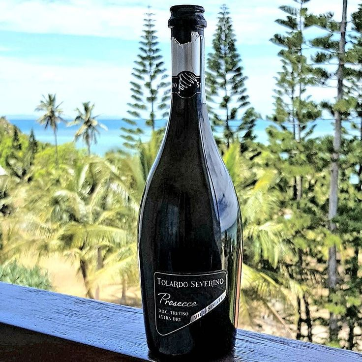 You can't go wrong with a refreshing  Prosecco   this view  on a very hot day.  Prosecco DOC Millesimato by Tolardo Severino