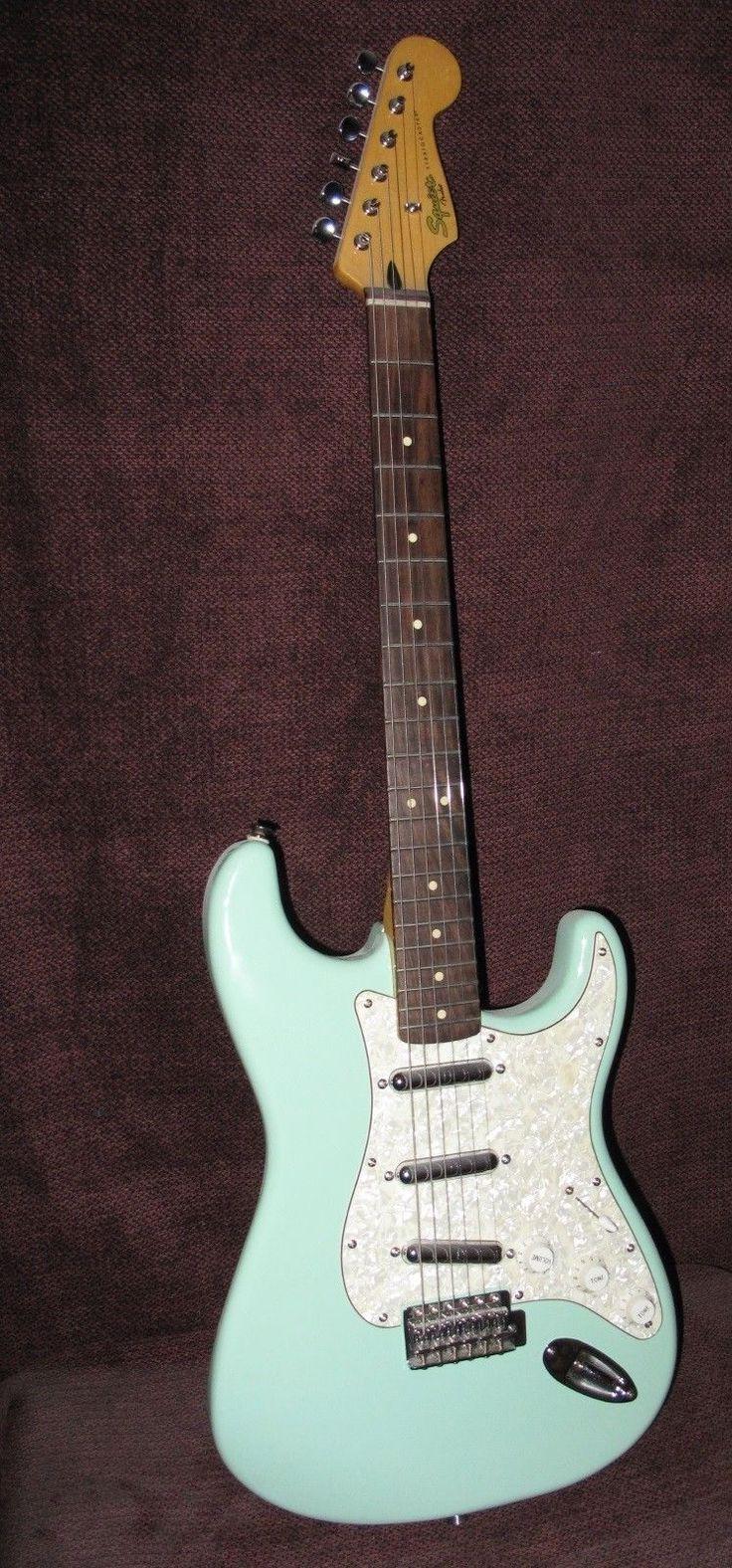 Fender Vintage Modified Surf Guitar Seafoam Green Squier Stratocaster Lipstick