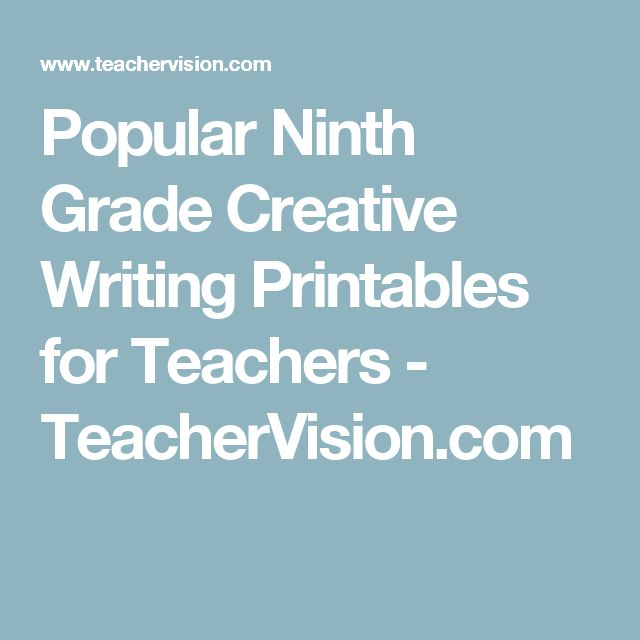 popular sixth grade creative writing printables Creative writing prices free this 1st grade writer's workshop bundle is aligned to the haunted house for sale writing activity inspires kids to be creative.
