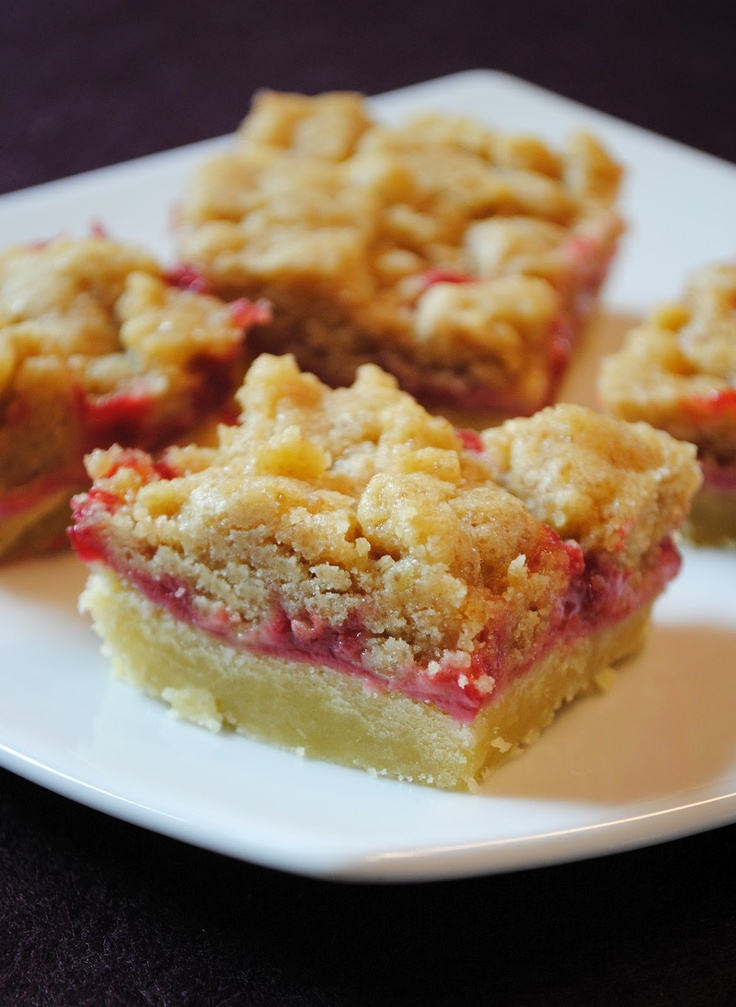 Himbeer Crunch Squares (ohne Ei)