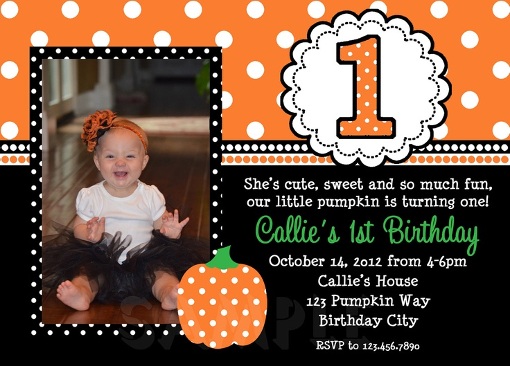 Results for 1st birthday costume party invitations pumpkin birthday invitation fall pumpkin st birthday party invitation boys or girls filmwisefo