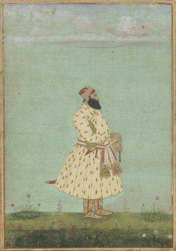 Portrait of Safdar Jang, early 18th century,  Sackler Gallery