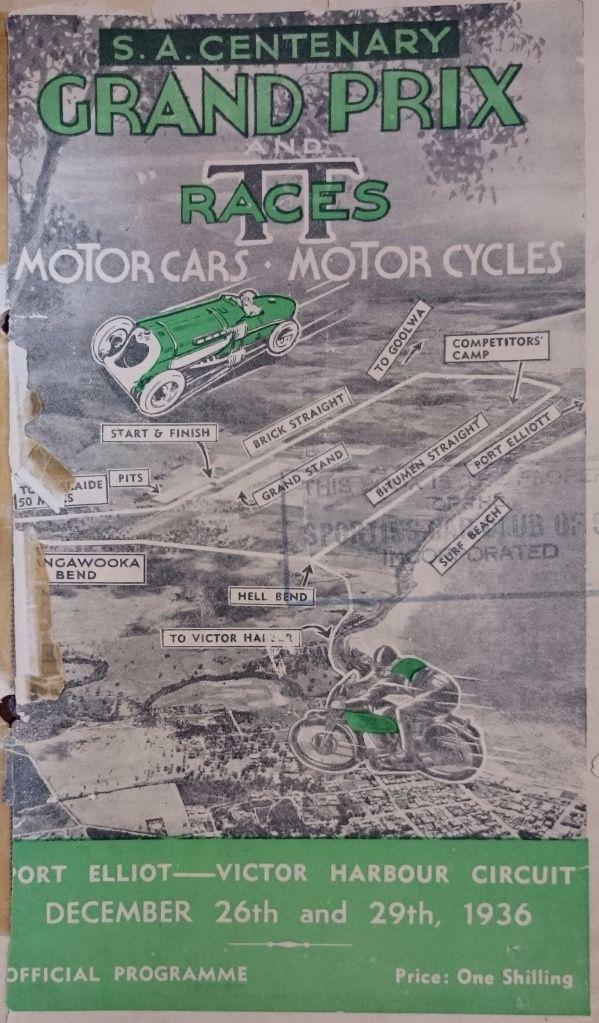 1936 Australian Grand Prix, Victor Harbour…   Primotipo...