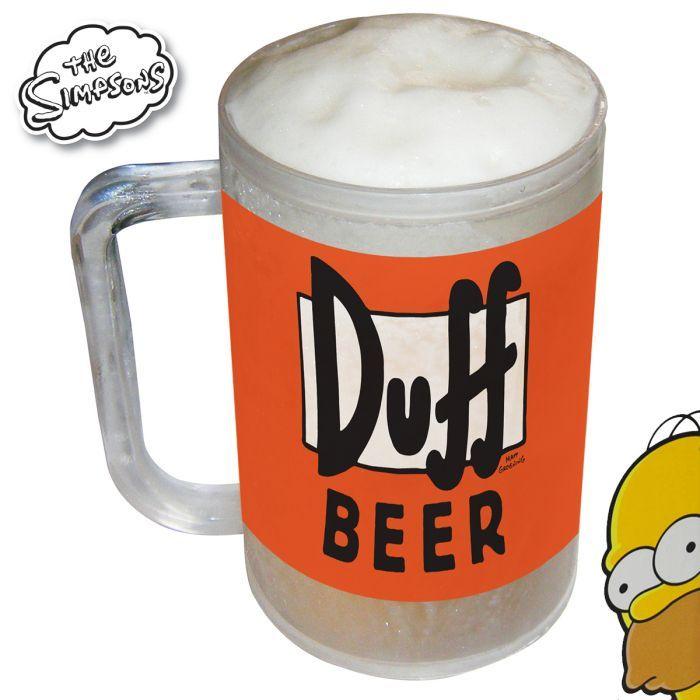 #cadeau du jour : Chope Réfrigérée #Simpson ► http://ow.ly/P7U67 fini la #biere chaude grâce à Homer !