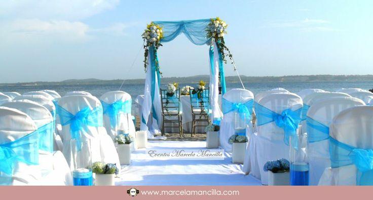 cartagena colombia beach wedding marcela mancilla event production http://marcelamancilla.com