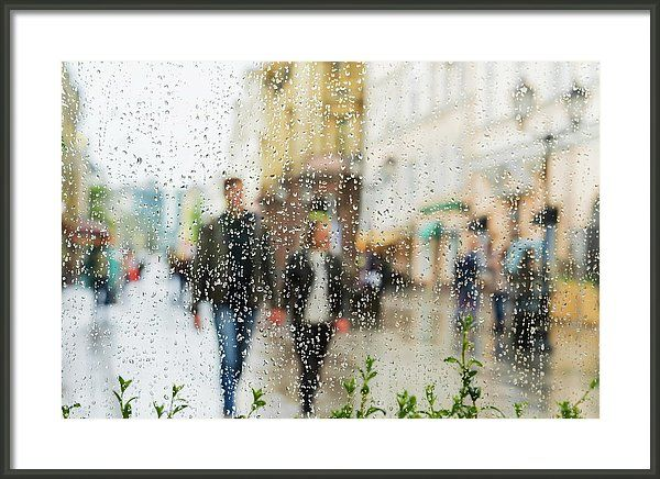 Holding hands in the rain by Svetlana Iso.     Young couple walking hand in hand without an umbrella, not noticing the rain.   Probably, they will pass so happily together through life.   This image is not staged, but from real life and from this the photographer is also pleased...  #SvetlanaIso#SvetlanaIsoFineArtPhotography #Photography#ArtForHome #InteriorDesign #FineArtPrints #Home #Gift#Color #Rain #Love #Hands