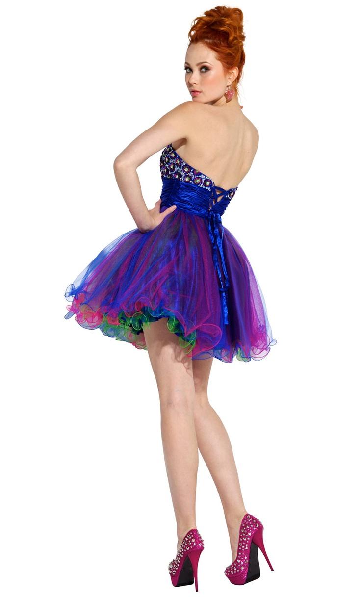 Purple Prom Dresses 2014