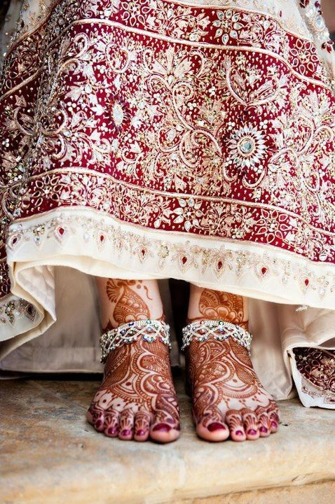 Red Henna Mehndi : Best images about dulha dulhan hands on pinterest