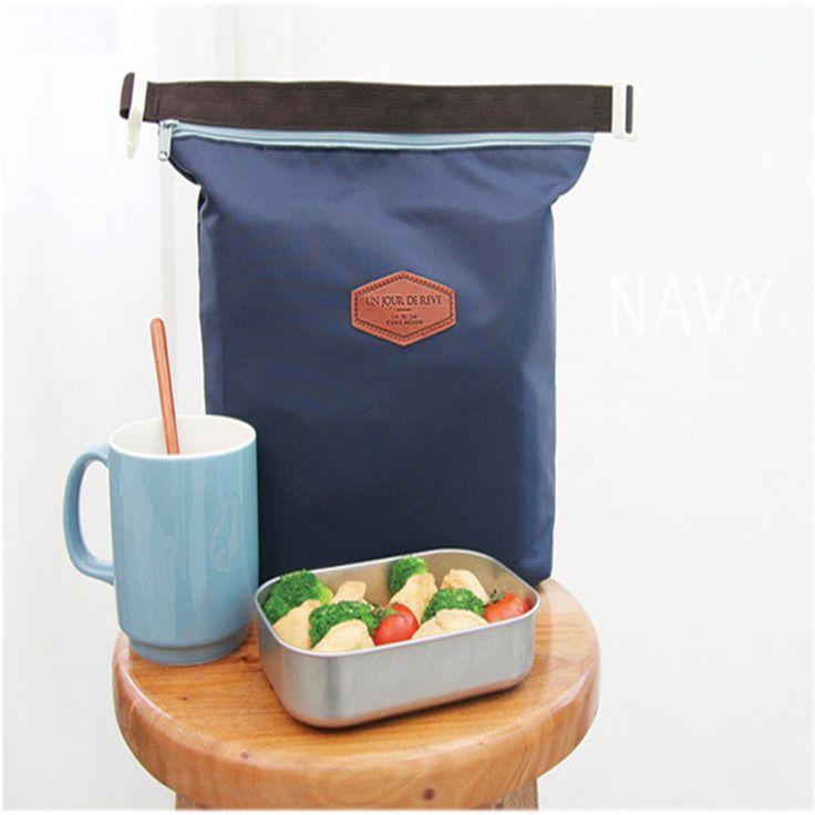 Тепловая Cooler Изоляцией Водонепроницаемый Обед Carry Хранения Сумка Для Пикника Мешок обед мешок TC0572