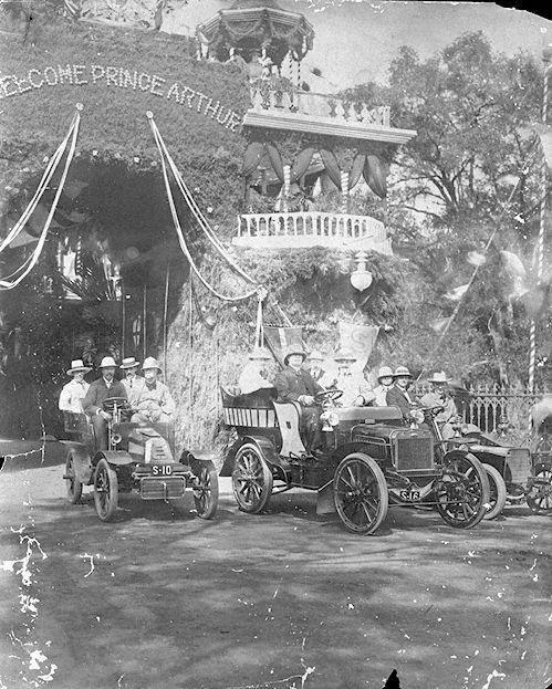 PRINCE ARTHUR'S VISIT TO SINGAPORE 1907
