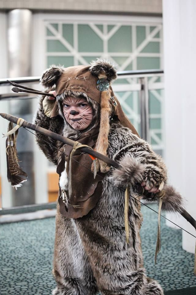Wicket (Star Wars Ewok) | Cosplay highlights from 2014 Salt Lake Comic Con FanXperience