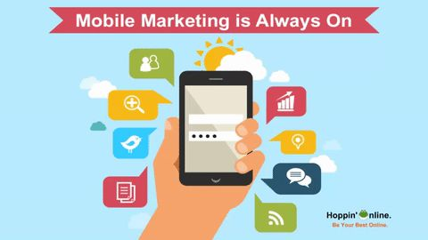With the number of increasing smartphone users Mobile Marketing is definitely in vogue!