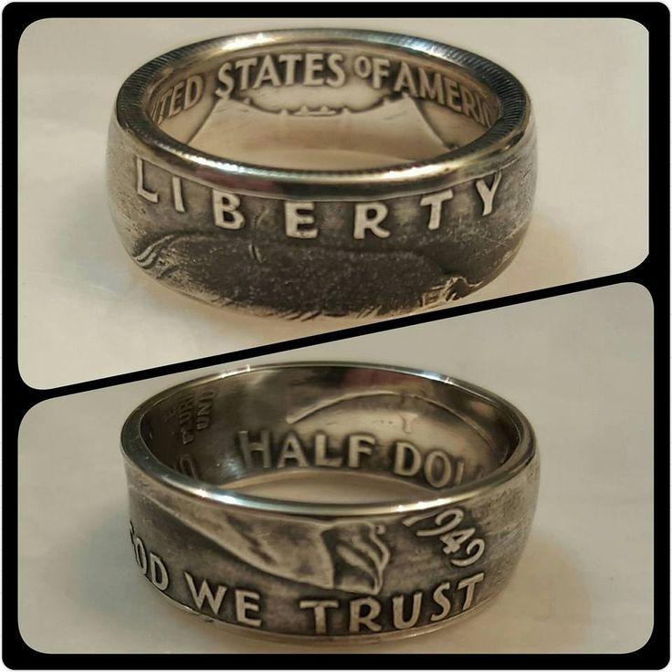 Irish Silver Coin Ring
