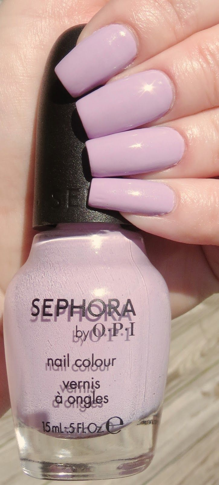 It's Hippo to Be Square Manicure - Sephora by OPI  #opi #sephora #itshippotobesquare #hippo #manicure #nailpolish #naillacquer #thinkspring #spring #lilac #creme #pretty #sechevite #perfectformula #manicurebooster #pastel