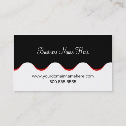Business Card Template Funky Waves Zazzle Com Manicurist Business Cards Business Card Template Business Card Design